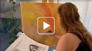 Johanna Jirsa Akt Painting